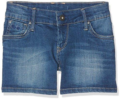 Pepe Jeans Mädchen Foxtail Badeshorts, Blau (Denim), 16 Jahre (Herstellergröße: 16)