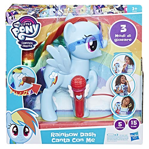 Hasbro My Little Pony - Rainbow Dash singt mit Me Puppe