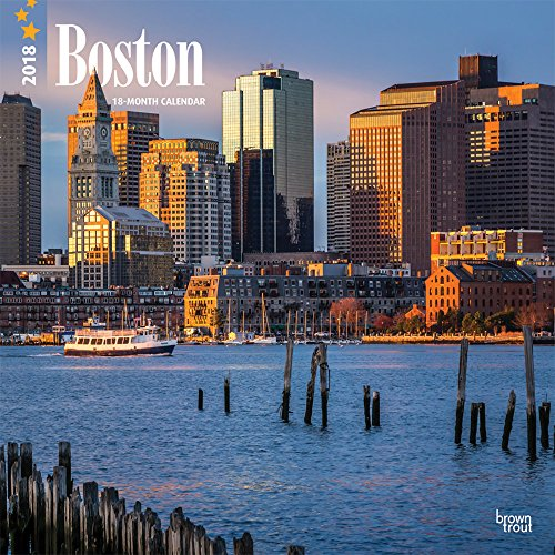 Boston 2018 Wall Calendar