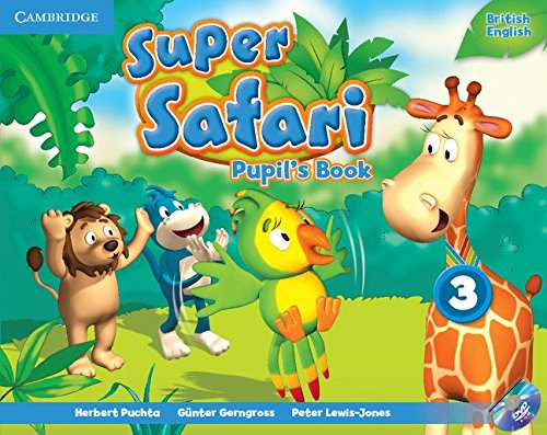 Super Safari Level 3 Pupil's Book with DVD-ROM (Super Minds) - 9781107477070 por Herbert Puchta
