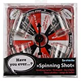 Men Women Man Woman Ladies Lady Gents Him Her - Great Idea For What Will You Land On? - Spinning Shot Party Night Drinking Game - Perfect for Secret Santa Stocking Fillers Xmas Christmas Birthday Valentines Anniversary Gift Present Idea - One Supplied