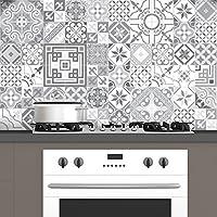 Cuadros de cemento adhesiva pared–azulejos–15x 15cm–60piezas