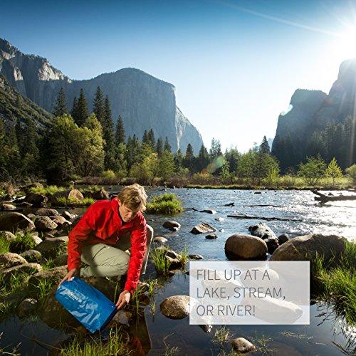 LifeStraw Mission  Kompakter Wasserreiniger mit Hohem Volumen (12 Liter) Filter, Blau, 12 liters - 6