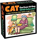 Cat Cartoon-A-Day 2018 Calendar