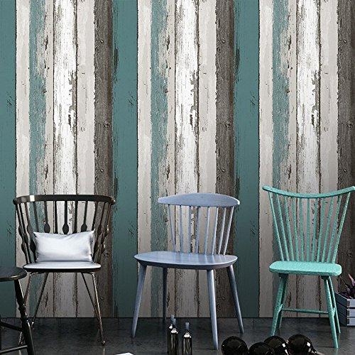 (Deko Holz Panel Muster Kontakt Papier Selbstklebende Regal rutschsicher schälen und Stick Tapete für, Küche Schrank zinntheken Böden Craft Projekte 61 x 300 cm)