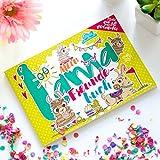 Mein kunterbuntes Lama Freundebuch für Kinder & Erwachsene! Das perfekte Geschenk für Schule, Kindergarten, Büro & Vereine - Alpaka ist das neue Einhorn - A5 Softcover 45 Seiten