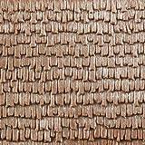 Auhagen 52.228,0 - Tejas de Paneles Decorativos de Madera, 10 x 20 cm Superficie de la Estructura, Colorido