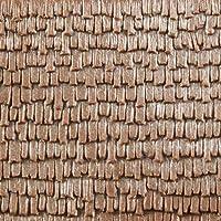 Auhagen 52.228,0 - tejas de paneles decorativos de madera, 10 x 20 cm superficie de la estructura, colorido , color/modelo surtido