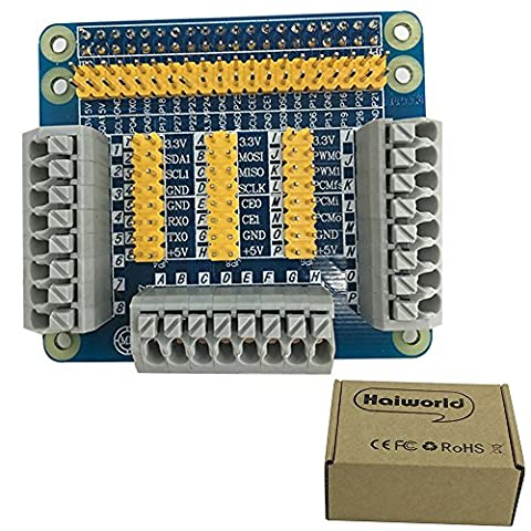 Haiworld GPIO Extension Board Module d' Interface multifonctions Pour Raspberry Pi 2 / 3 Model B PC Banana Pi M3/Pro Orange Pi