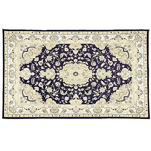 Anti-skid Bathroom Floor Carpet - Area Rugs - Bathroom Rugs - Kitchen Rugs - Home Decoration (Blue)
