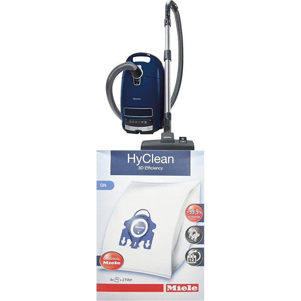 Miele S 8340 PowerLine Staubsauger, 4.5 L, 890 W + 9917730 Staubbeutel HyClean 3D, Inhalt: 4 Staubbeutel , 1 Air Clean…