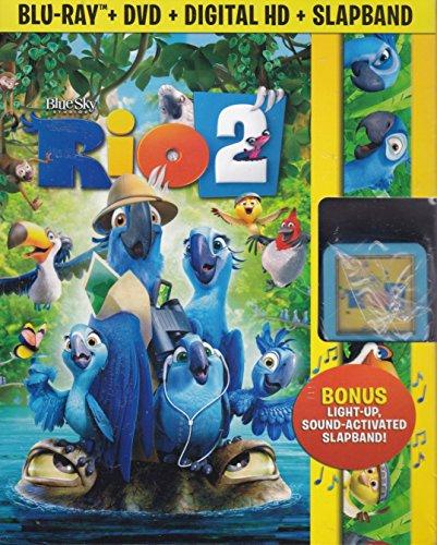 Rio 2 (Blu-Ray + DVD + Digital HD + Slapband)