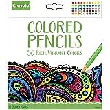 Crayola - 68-0050.0030 - Coloriage pour Adultes - Boîte de 50 crayons de couleur