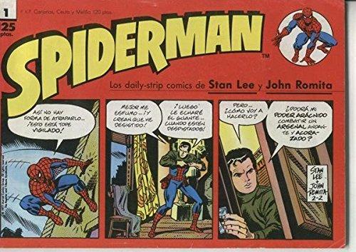 Spiderman tiras de prensa numero 01