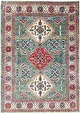 Nain Trading Kazak 243x166 Orientteppich Teppich Beige/Hellblau Handgeknüpft Afghanistan