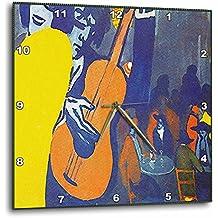 3dRose Salvador Dali - Escena de Pintura en un Reloj de Pared, 38,1