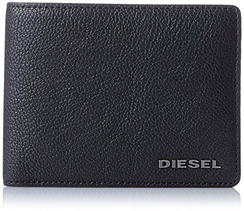 Diesel jem-j neela xs, uomo portafogli, nero (black) 2x8.5x11 cm (b x h x t)