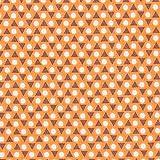 Fabulous Fabrics Cretonne Dreiecke Ideo – orange —
