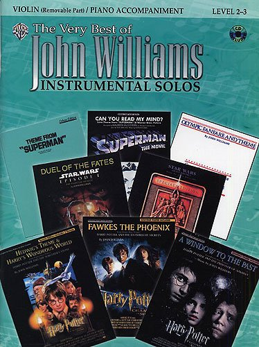 The very best of John Williams für Violine und Klavier inkl. CD, 13 beliebte Melodien aus Star Wars und Harry Potter [Musiknoten]