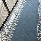 GuoWei Tapis De Passage Couloirs Région Moquette Antidérapant Jacquard Modèle Longueur Sur Mesure, 18 Tailles (Couleur : B, taille : 0.5x2m)