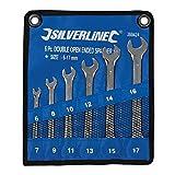 Silverline 380424 - Set chiavi fisse