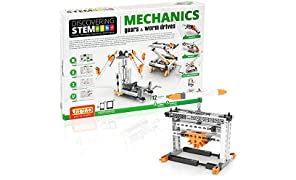 Engino ??iscovering Stem Mechanics Gears & Worm Drives Building Kit by Engino