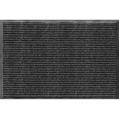 Apache Mills 010331902Rippe, kommerziellen Teppichböden Innen und Außenbereich Bodenschutzmatte, Pfeffer, 2Füße durch 3Füße -