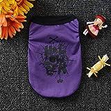 MSSJ - Costume da Orsacchiotto con Stampa per Halloween Violet-l