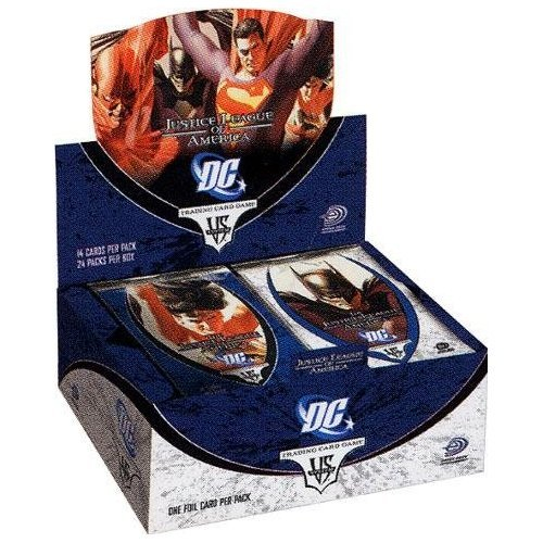 Marvel VS. System Trading Card Game - Justice League of America Booster Display (24 Booster) (Vs-system-box)