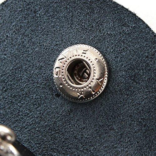 Generic dyhp-a10-code-5562-class-1-Schlüsselanhänger Tasche Geldbörse Hain Mini ER Wand schwarz Leder ER GU Gitarre Plektrum Plektron Picks Halter Lack LE--dyhp-uk10-160819-3524 Johnson Leder