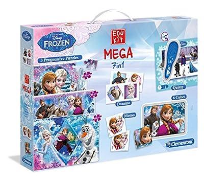 Disney Frozen - Mega Edukit 7 en 1 (Clementoni 149285) por Clementoni