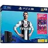 PS4 Pro 1 To G Noir + FIFA 19 - Standard Edition + PS Plus Voucher 14 Jours