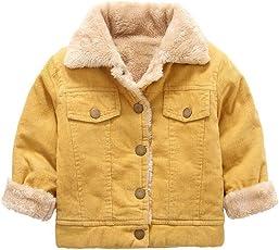 SMITHROAD Baby Jungen Mantel Winter Jacke Winterjacke Steppjacke Fleecejacke Duffle Outerwear Trenchcoat