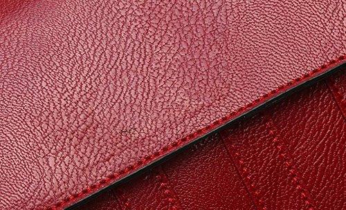 Sacchetto Di Spalla Del Sacchetto Di Spalla Delle Signore Piccolo Regalo Di Natale Del Sacchetto Quadrato Red