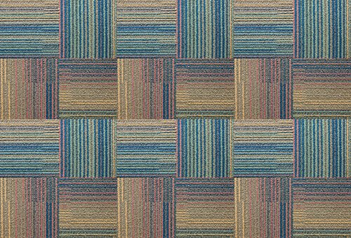 Printodecor - Alfombra Vinílica Impresa, Multicolor (Orgánico Madera Verde), 143 x 97 cm