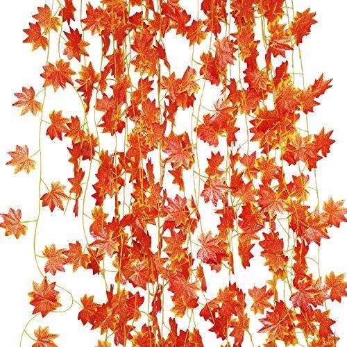 LJY, ghirlanda di foglie di...