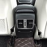 Für MB A/B/GLA/CLA Klasse C117Faltenband zum W176AMG car-styling ABS Chrom Hinten Zeile Klimaanlage Vent Trim Zubehör