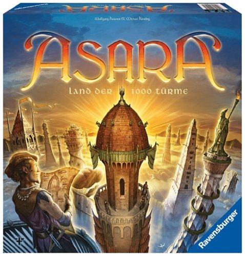 Ravensburger 26530 – ASARA - Land der 1000 Türme (Die Bauherren Brettspiel)