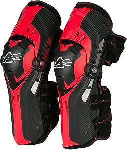 Acerbis 247992425 316 Ginocchiera Gorilla Nero//Rosso Taglia Unica