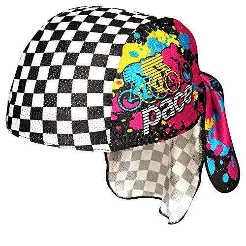 Unbekannt Pace Sportswear Coolmax Pace Sportswear Peloton Skull Cap Coolmax-skull-cap