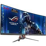 Asus ROG SWIFT PG348Q 86,7cm (34 Zoll) Curved Gaming Monitor (UWQHD, DisplayPort, HDMI, USB 3.0, 5ms Reaktionszeit, G-Sync), Farbe: Plasma Copper + Armor Titanium
