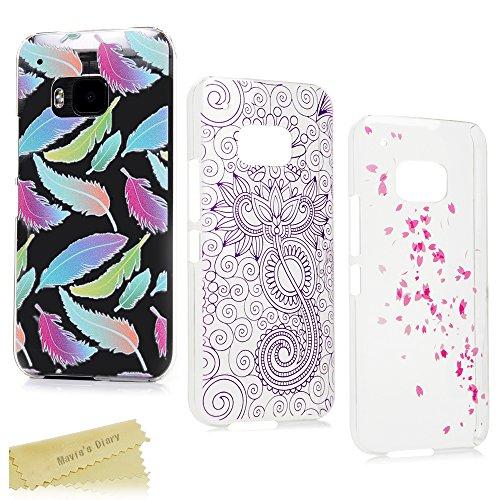 HTC One M9 Hülle Mavis's Diary 3x Case PC Plastik Hardcase Back Cover Tasche Schutzhülle Anti-Scratch Telefon-Kasten Handyhülle Handycover Bumper Fall Euit