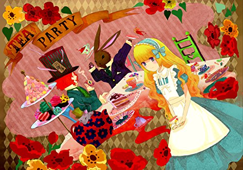 Anime Wall Calendar 2018 (13 pages 20x30cm) Alice in Wonderland Anime Manga [Calendar] [Jan 01, 2017] Pixiluv