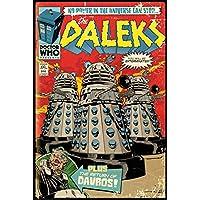 GB eye Doctor Who Red Dalek Comic Maxi Poster, Various, 61 x 91.5 cm