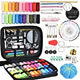 Kit de costura, Accesorios Portátil Costurero con 149 herramientas esenciales incluyen dedal, hilo, agujas y accesorios de costura para principiantes, viajero, emergencia, familia