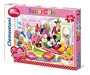 Clementoni 27888.6 - Puzzle - Fabelhaft - I love Minnie, 104 Teile