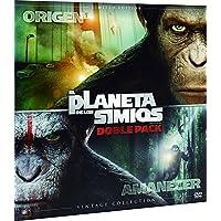 El Origen Del Planeta De Los Simios + El Amanecer Del Planeta De Los Simios Colección Vintage (Funda Vinilo) Blu-Ray