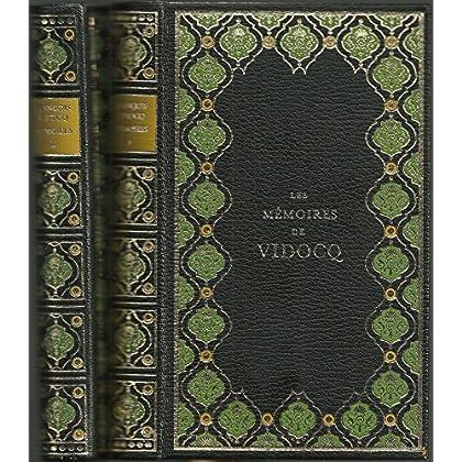 Mémoires de Vidocq Beauval, 1968, 2 vol.