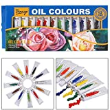 #4: Bianyo Artist Quality OIL Color Tubes Paint Set - 12ml Tubes, 12 Shades