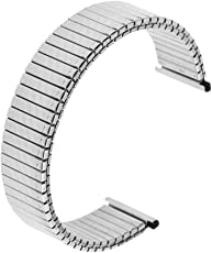 FNT 18mm Luxury Solid Link Stainless Steel Women Mens Watch Strap Band for Watch
